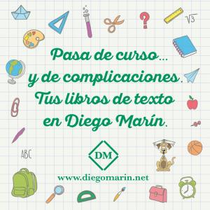 Compra tus libros de texto en Diego Marín