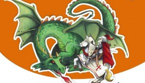 El_dragon_la_princesa_san_jorge_y_la_rosa