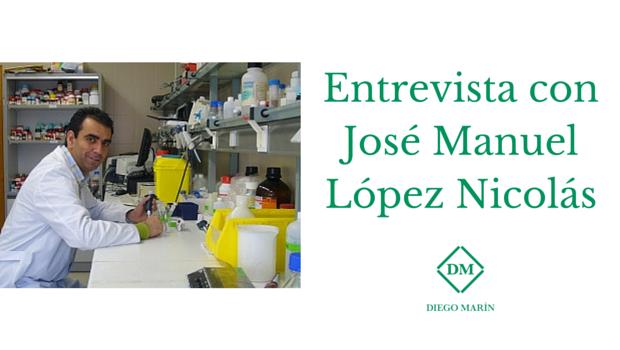 Entrevista con Jose Manuel Lopez Nicolas
