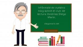 Club de lectura librerías Diego Marín